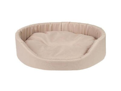 AMIPLAY - Ovali lova Basic beige - XS