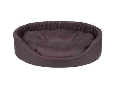 AMIPLAY - Ovali lova Basic brown - XXXL