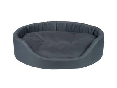 AMIPLAY - Ovali lova Basic tamsiai mėlyna - L