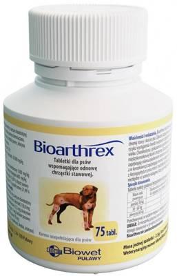 BIOWET Bioarthrex - tabletės, palaikančios sąnarių kremzlių regeneraciją 75 tabl.