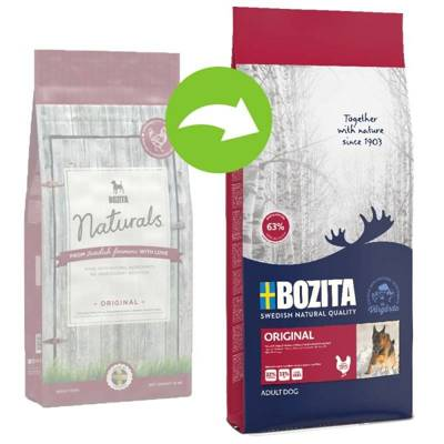 BOZITA Dog Naturals Original 12kg