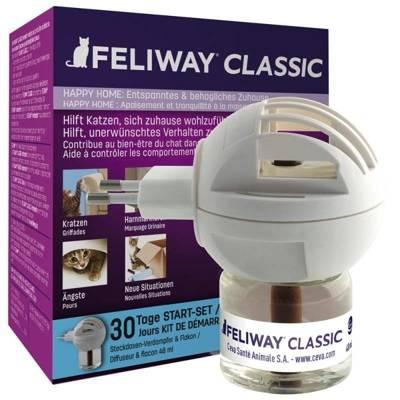 CEVA Feliway difuzorius ir 48 ml buteliukas su feromonu F3