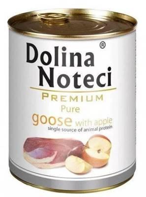 Dolina Noteci Premium Pure žąsis su obuoliais 800g