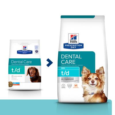 HILL'S PD Prescription Diet Canine t/d Mini Dental Care 3kg