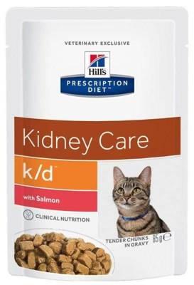 HILL'S PD Prescription Diet Feline k/d Kidney Care Salmon pouch konservai katėms