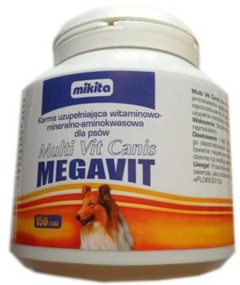 MIKITA Megavit Multi Vit Canis 150 tabl.