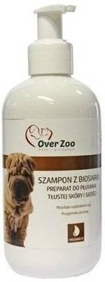OVER ZOO Gydomasis šampūnas su biosulfuru 250ml