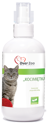OVER ZOO Katžolė - preparatas viliojantis kates 250ml