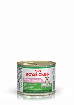 ROYAL CANIN Starter Mousse Mother&Babydog 195g dežutės