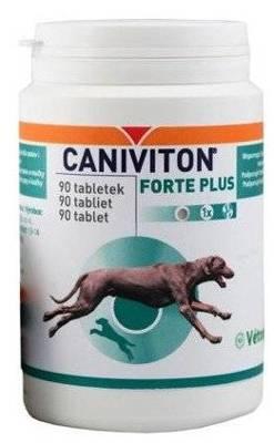 VETOQUINOL Caniviton forte plus - 90 tab.