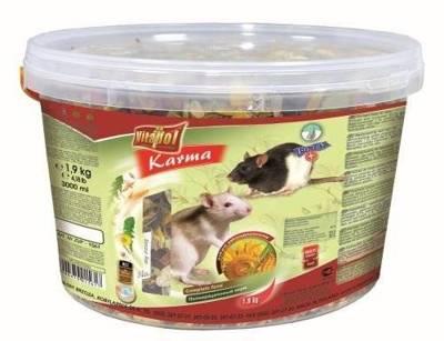 VITAPOL visavertis maistas žiurkėms 1,9 kg kibiras