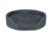 AMIPLAY - Ovali lova Basic tamsiai mėlyna - M
