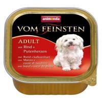 ANIMONDA Dog Vom Feinsten Adult skonis: jautienos ir kalakutienos širdelės 150g