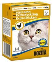 BOZITA Cat Kapota vištiena drebučiuose 370g