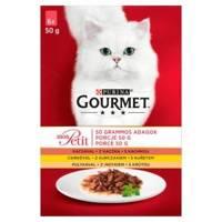 GOURMET mon Petit pašaras katėms- paukštienos MIX 6x50g
