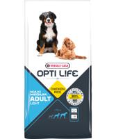 VERSELE-LAGA Opti Life Adult Light Medium & Maxi 12,5 kg - su vištiena - vidutinėms ir didelėms veislėms