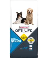 VERSELE-LAGA Opti Life Senior Medium & Maxi 12,5 kg - su vištiena - vidutinėms ir didelėms veislėms nuo 7 metų
